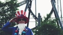 Uncle Sam standing proudly!