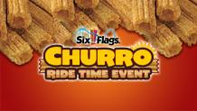 pile of churros