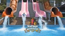 Shotgun Falls at Six Flags Hurricane Harbor