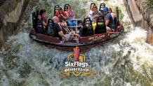 Roaring Rapids at Six Flags Over Texas