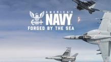 navy fighter jets soaring through the sky