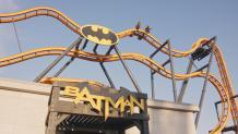 batman ride entrance