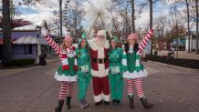 Santa and his elves