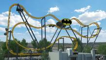 BATMAN: The Ride rendering