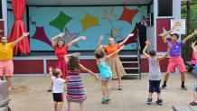 kids club dance party