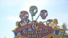 The arms of State Fairis Wheel