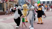 Characters on Main Street