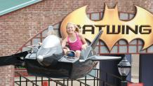 Guest riding Batwing
