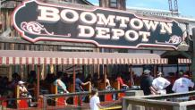 Boomtown Depot train station