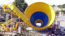 Tornado water slide