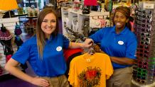 Retail team members