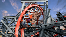 Wicked Cyclone at Six Flags New England