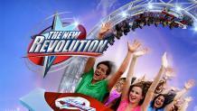 The new revolution coaster