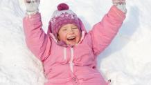 Child on Snow Hill