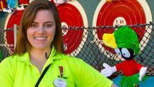 Seasonal games park employee