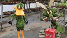 floral <em>Looney Tunes</em> characters