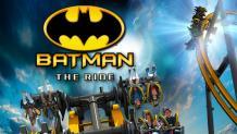 BATMAN™: The Ride logo and art