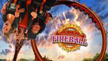 New Looping Coaster - Bourbon Street Fireball