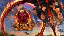 El Diablo coaster logo and art
