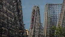 El Toro coaster on National Roller Coaster Day