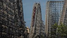 National Roller Coaster Day coaster ride