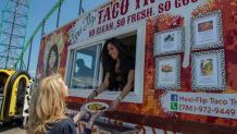 Taco truck at Food Truck Festival
