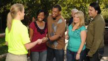 Group redeeming ticket