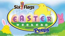 Peeps Easter Weekend event banner