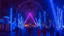 Illuminated Holiday Scenery