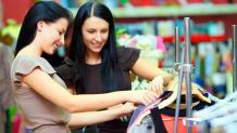 Women Shopping for Apparel