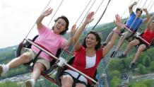 Women on Sky Screamer