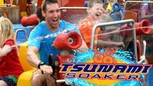 Tsunami Soaker water cannon ride