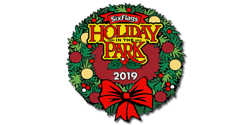 2019 Holiday in the Park Pin