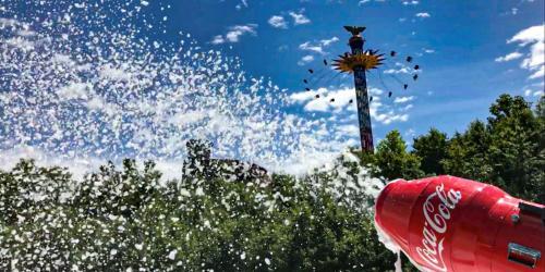 Coca-Cola Foam Party, Daytime