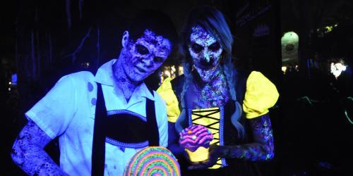 nightmarish ghouls near Katy's Kettle