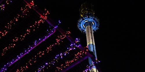 Acrophobia during Holiday in the Park