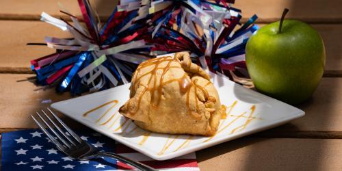 Baked apple dumpling