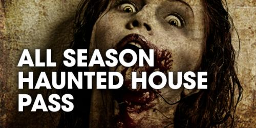 Fright fest all season haunted house pass graphic