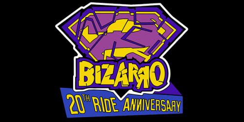 BIZZARO 20th Ride Anniversary Pin