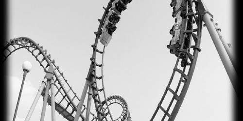 Black and white Boomerang
