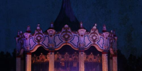 Carousel at Night during LightmosFEAR