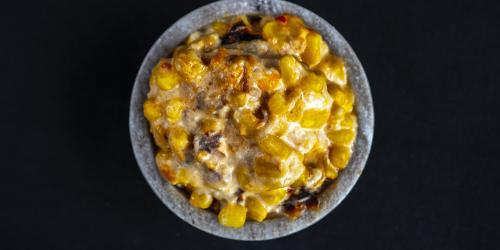 Cheesy Corn Bake in a Bowl