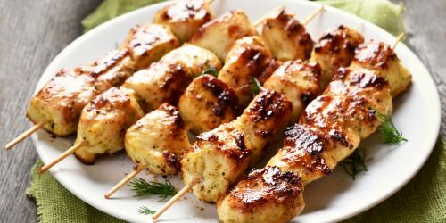 Filipino chicken kebobs