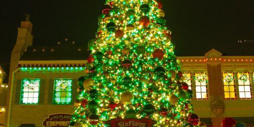 Giant Christmas tree.