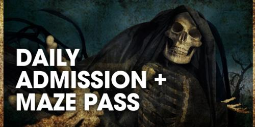 Park admission plus maze pass