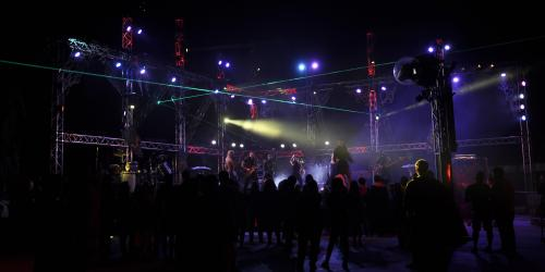 Voodoo Nights live in the Full Throttle Plaza