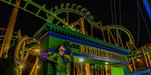 THE RIDDLER™ Revenge at Six Flags New England