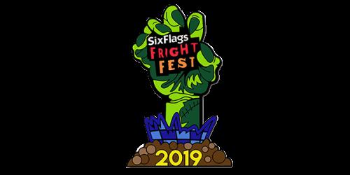 2019 Fright Fest Membership Pin