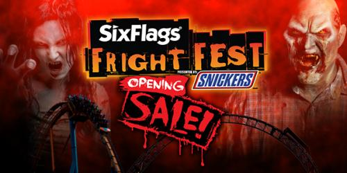 Fright Fest opening ticket sale