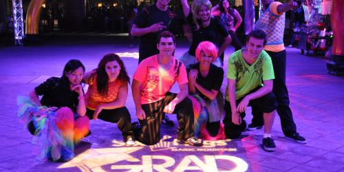 dancers during senior grad nite
